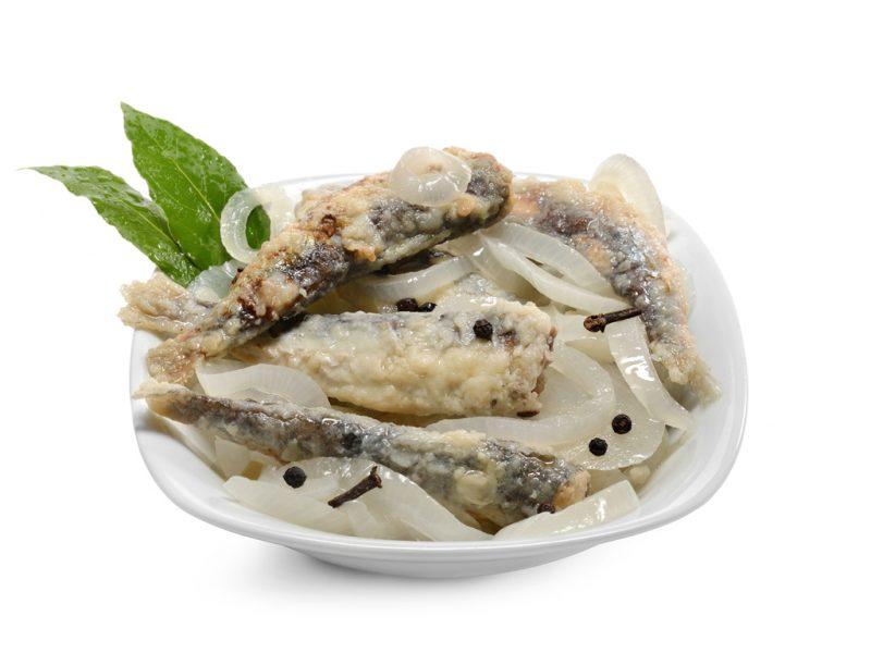 Sarde in saor pescheria gastronomia stella marina chioggia